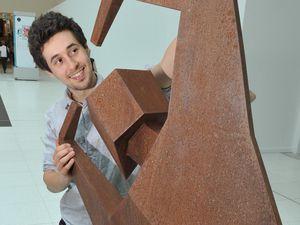 Artist Jacob Chandler, of Wellington is being featured in Hidden Talents
