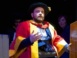 Telford gold medal-winning Paralympian honoured by university - with video