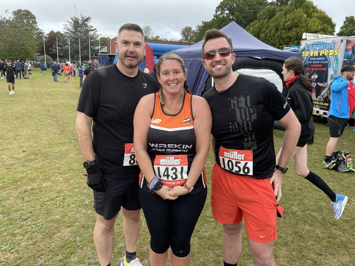 Laura Mackinnon, Gary Hay and Peter Foulkes