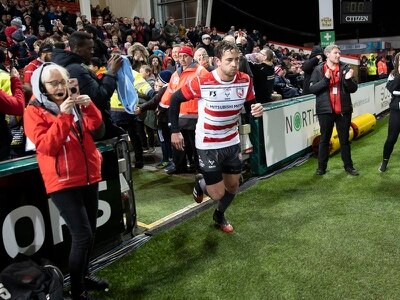 Danny Cipriani and rugby teammates pay match tribute to Caroline Flack