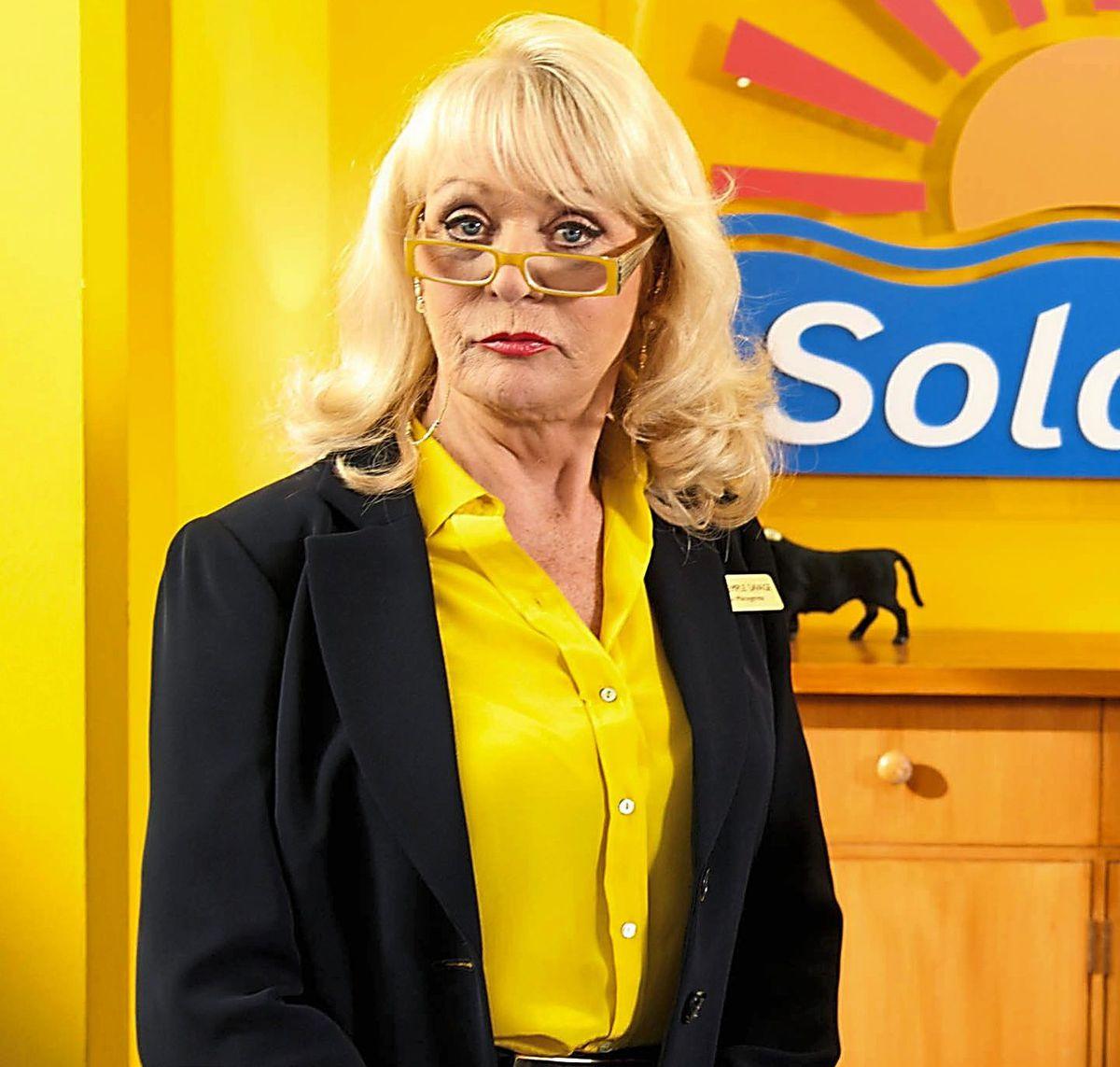 Sherrie Hewson as Solana Hotel manager Joyce