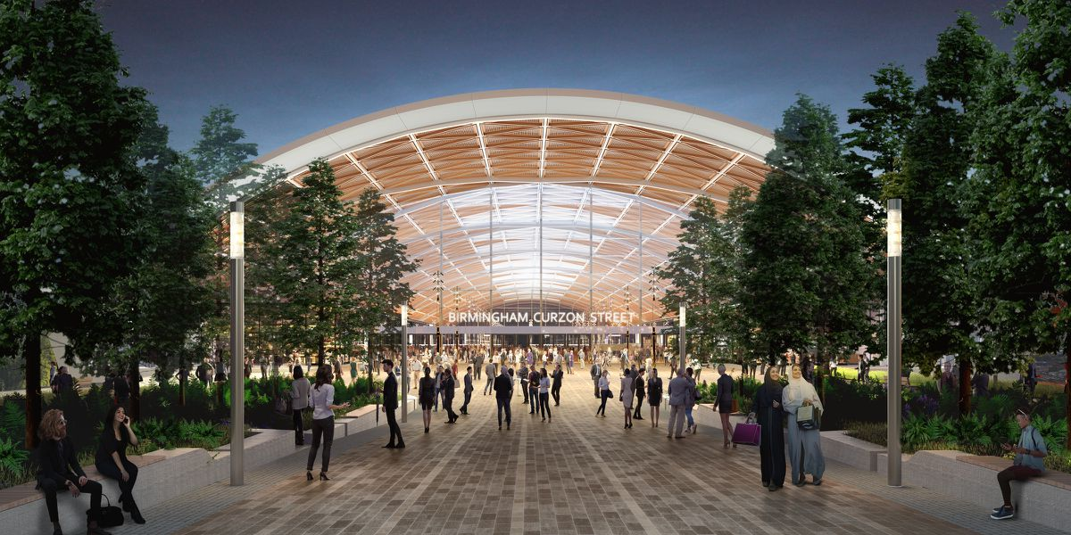 How HS2's Curzon Street station will look