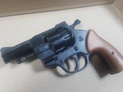 Replica gun found in Newport loft handed in to police