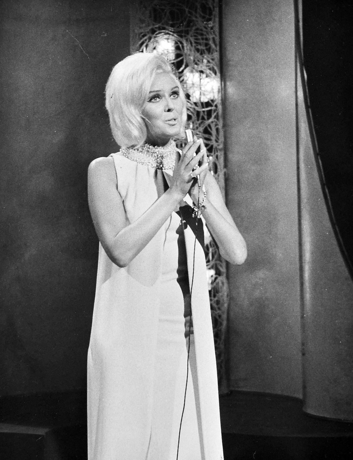 Broseley-born singing star of the 1960s Janie Marden.