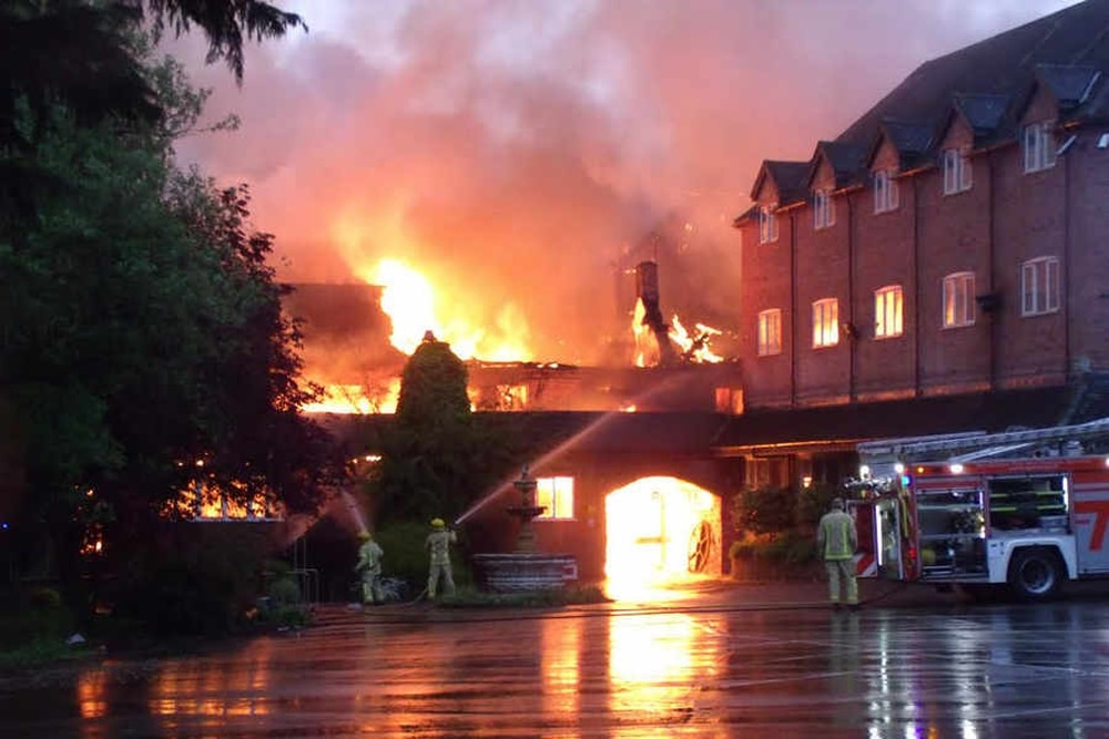 The Pretty Country Hotel Near Bridgnorth Chosen As Venue For Countless Weddings And Family Occasions Burned Down In May