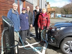 Car charging points opened at Mid Wales railway as part of £89k revamp