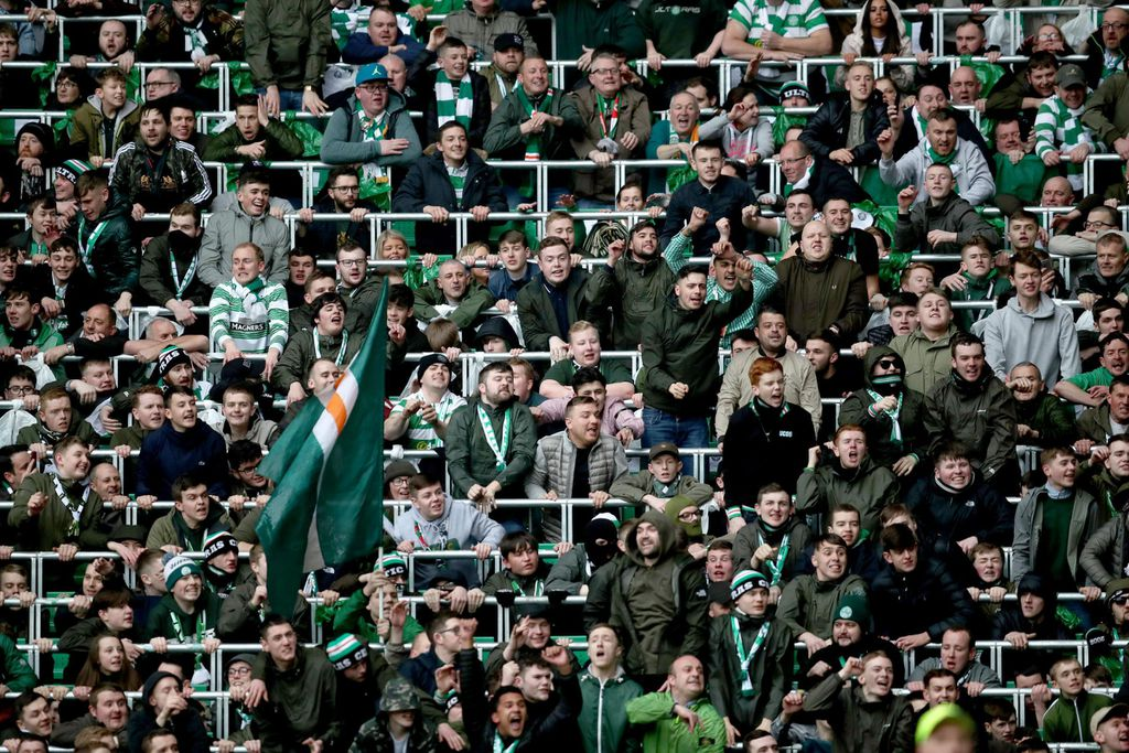 Safe standing at Celtic
