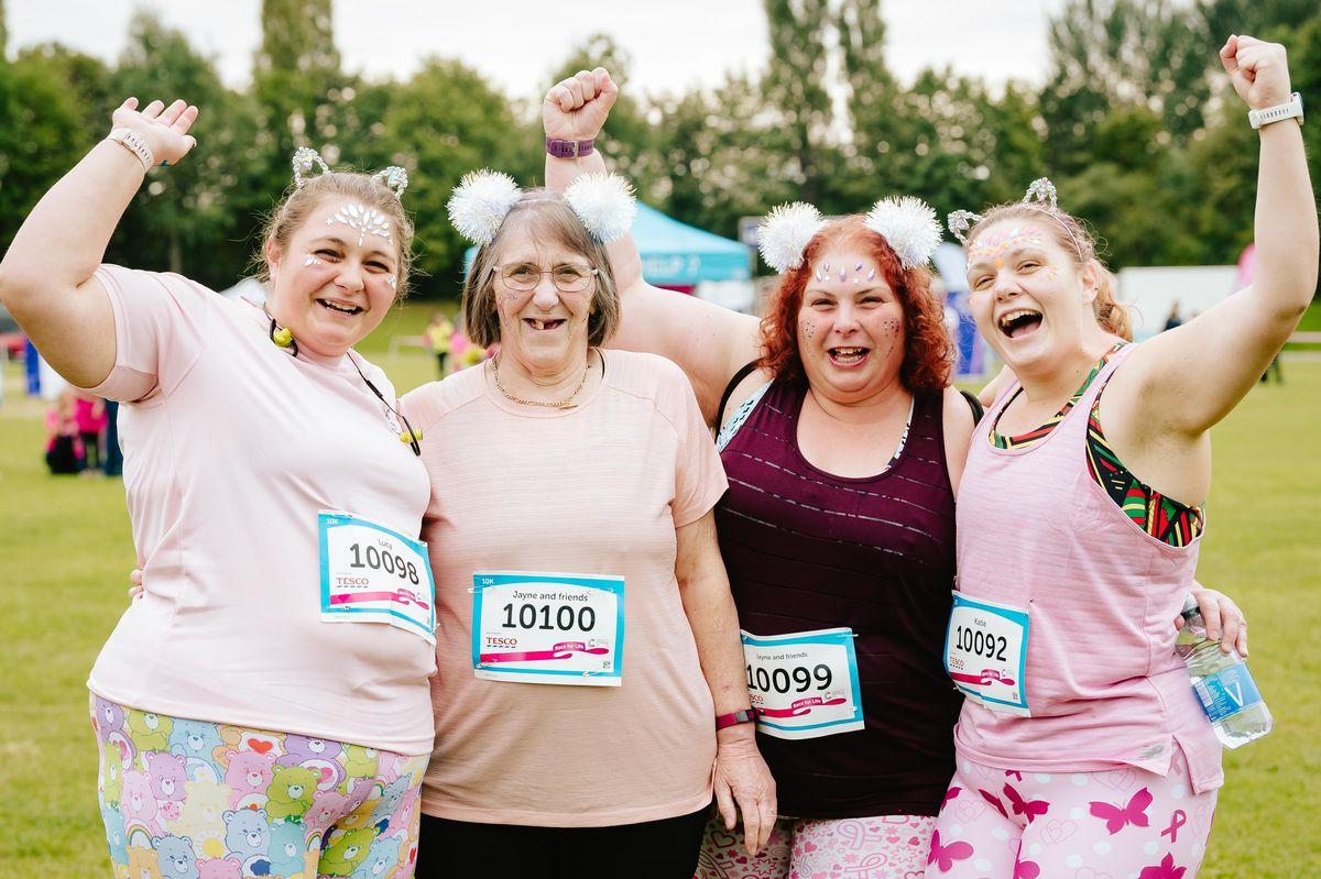 Lucy Clarke, Beryl Merrington, Jayne Clarke and Katie Clarke from Telford