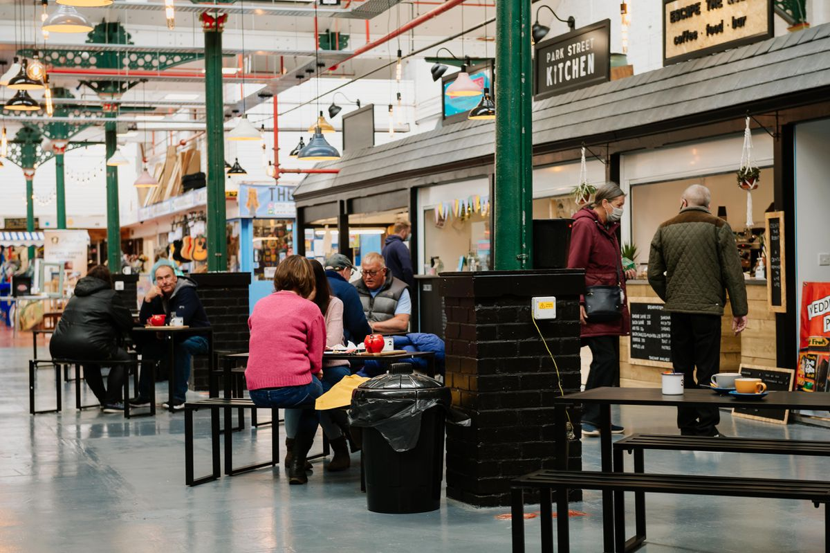 Wellington Market in Telford has introduced a new food court