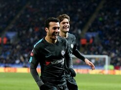 Pedro's extra-time winner edges Chelsea past Leicester and into FA Cup semi