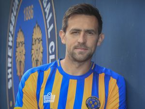 Charlie Daniels signs for Shrewsbury Town Pic: STFC