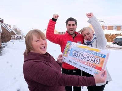 Shrewsbury's Ann hits jackpot with £30,000 lottery win