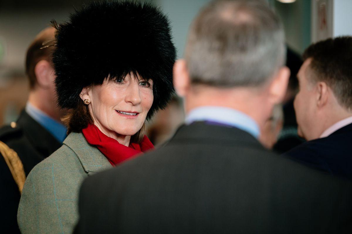 Shropshire's Lord Lieutenant, Anna Turner