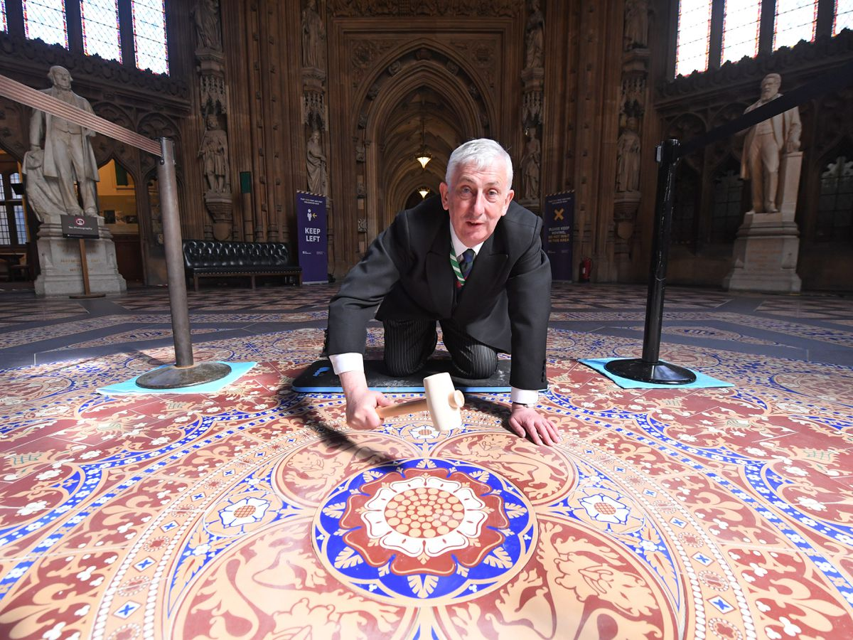 Speaker of the House of Commons Sir Lindsay Hoyle. Pictures: Jessica Taylor