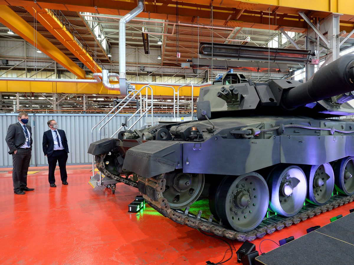 The Telford site is part of the BAE Systems and Rheinmetall joint venture on armoured vehicles