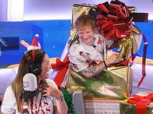 Ed Sheeran surprises nurse Nicky