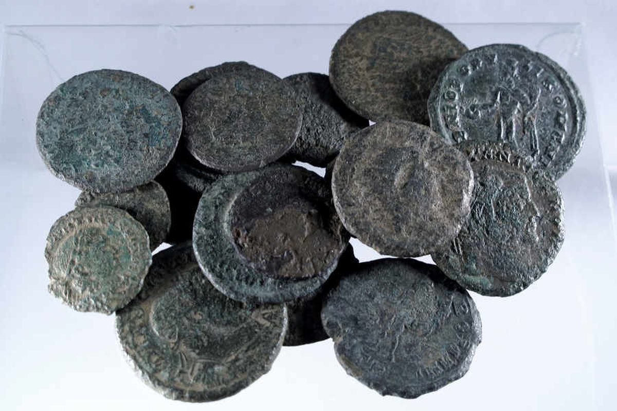 The Claverley Hoard: Roman coins found in Shropshire are declared treasure