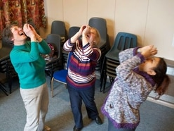 What it's like to teach laughter yoga
