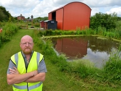 Row over newly built barn 'could cost jobs', says Shropshire business,am