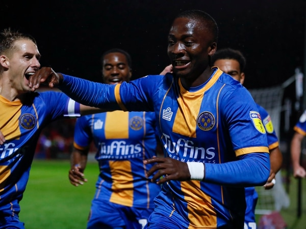 Shrewsbury Town boss Sam Ricketts reins in eager Daniel Udoh