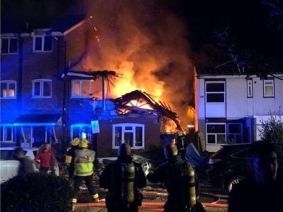 Three rescued and one unaccounted for after suspected gas explosion at flat