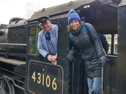 Coronation Street star visits Bridgnorth's Severn Valley Railway for BBC pilot