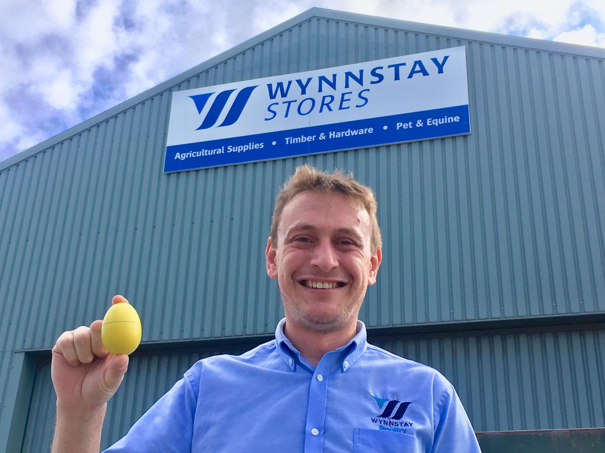 Jim Turner, Wynnstay's poultry product manager