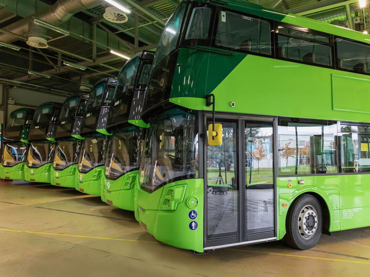 Wrightbus hydrogen-powered double deckers