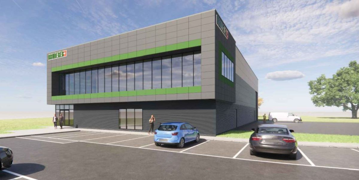 Artist's impression of the planned Bruderer UK Ltd building, in Telford (Picture: Advance Land and Planning Ltd for Bruderer UK Ltd)