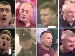 Eight men sought after Aston Villa fans' attack on police and stewards