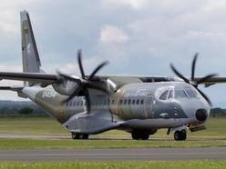 RAF Shawbury hosts aircraft from around world for big Cosford show