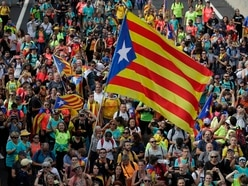 Protests paralyse Catalonia as marches head for Barcelona
