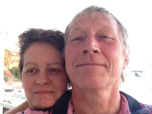 Motorcycle couple died after hitting digger while overtaking on A41