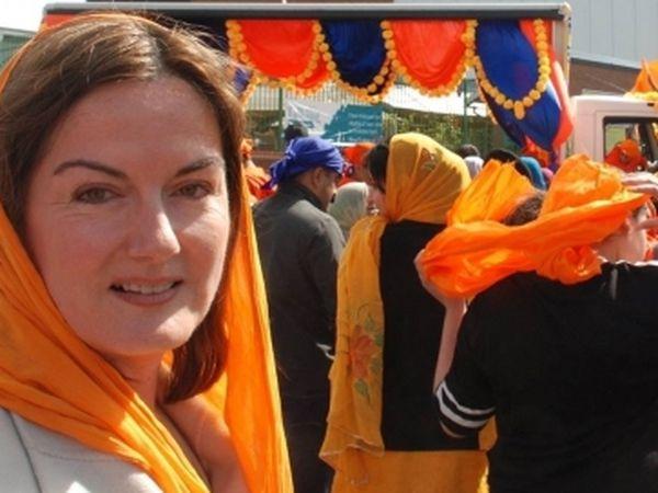 Telford MP Lucy Allan celebrates Vaisakhi