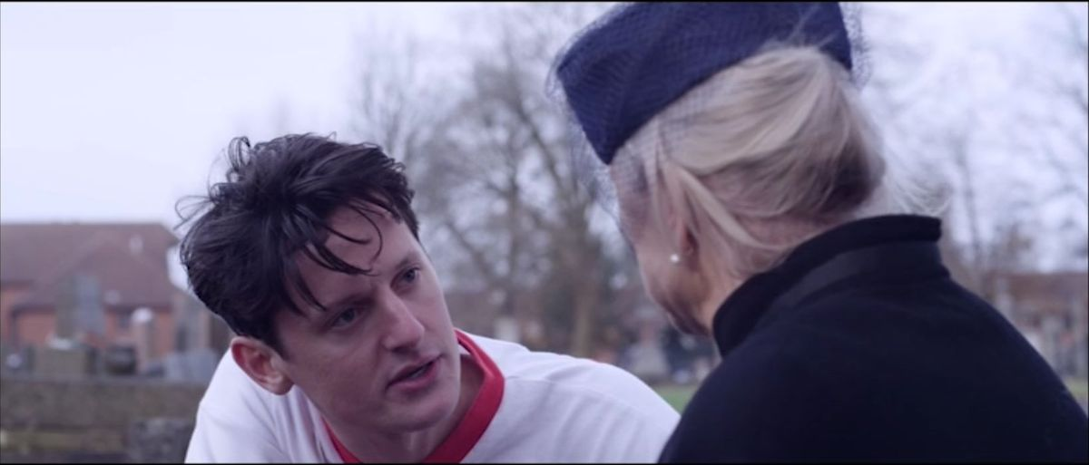 A clip from the film - an older Duncan with his mother Sarah Ann