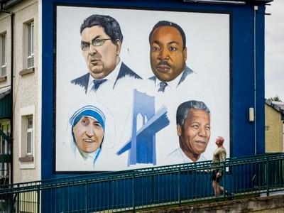John Hume hailed as Ireland's Martin Luther King
