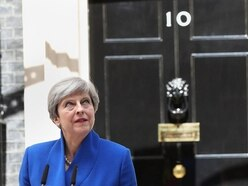 Shropshire Star comment: The door's over there Mrs May!