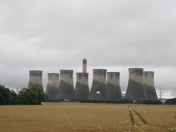 Eggborough Power Station demolition