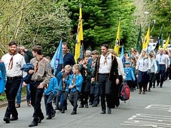 Scouts hit the streets in Much Wenlock