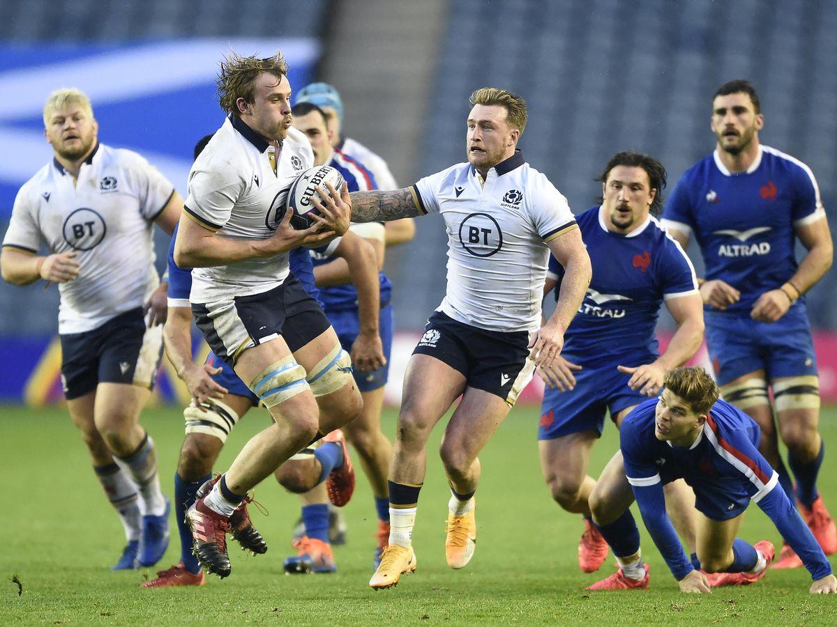 Scotland v France – Autumn Nations Cup – BT Murrayfield Stadium