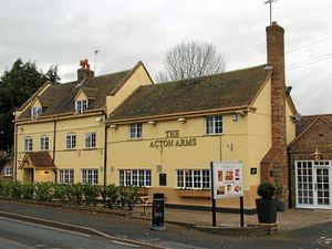The Acton Arms near Bridgnorth