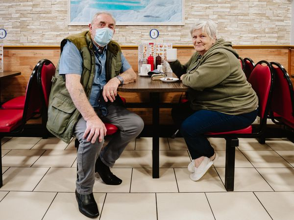 Alan Boswell and Irene Boswell from Wellington, Telford
