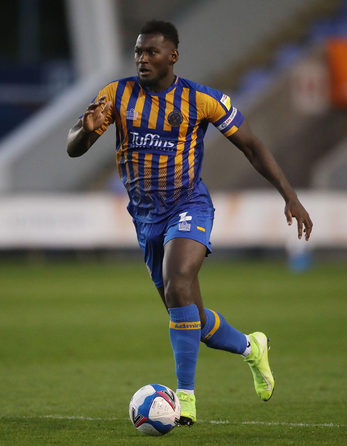 Influential Shrewsbury defender Aaron Pierre is well ahead of schedule in his injury return
