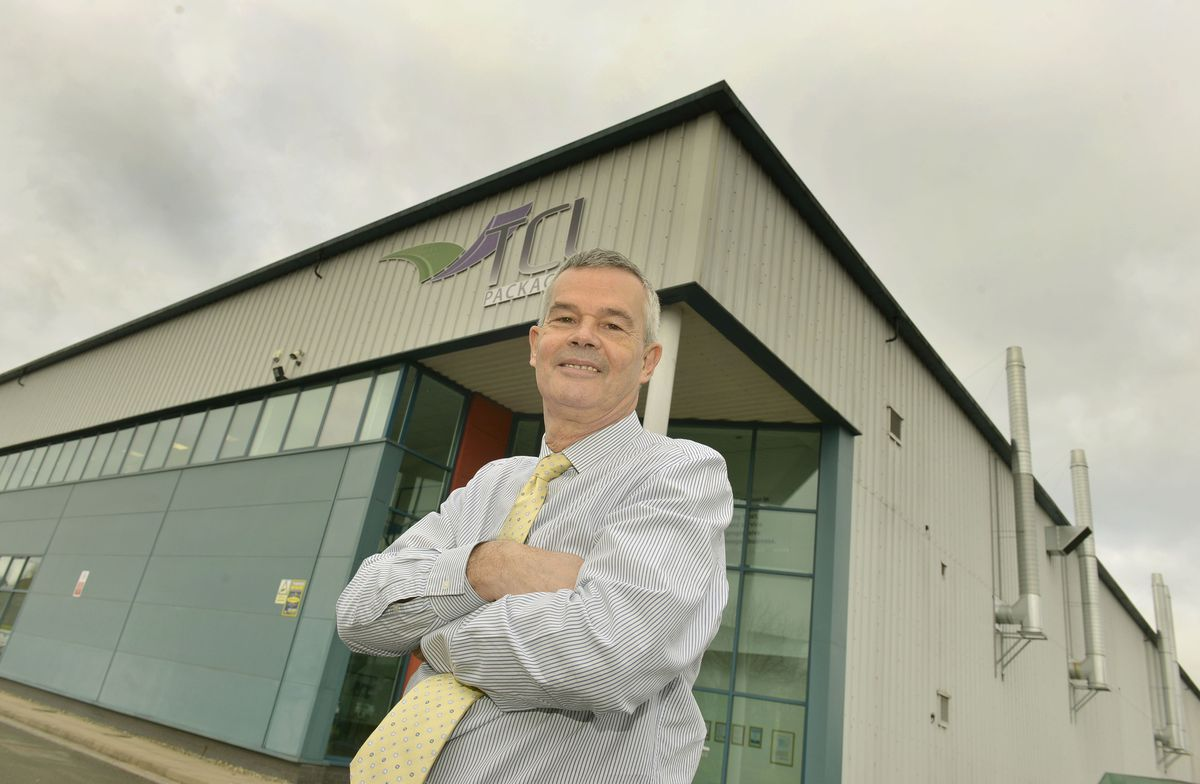Mike Golding, chairman of TCL Packaging in Telford