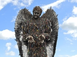 'Put Knife Angel on iconic Fourth plinth', says Oswestry man behind project