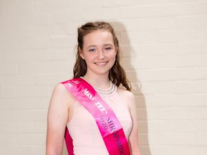 Mia Harrison won Miss Teen Shropshire