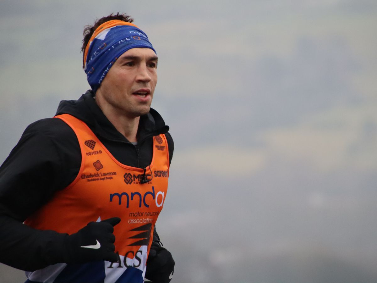 Kevin Sinfield has been awarded an OBE for his services to rugby league but also his fundraising for motor neurone disease