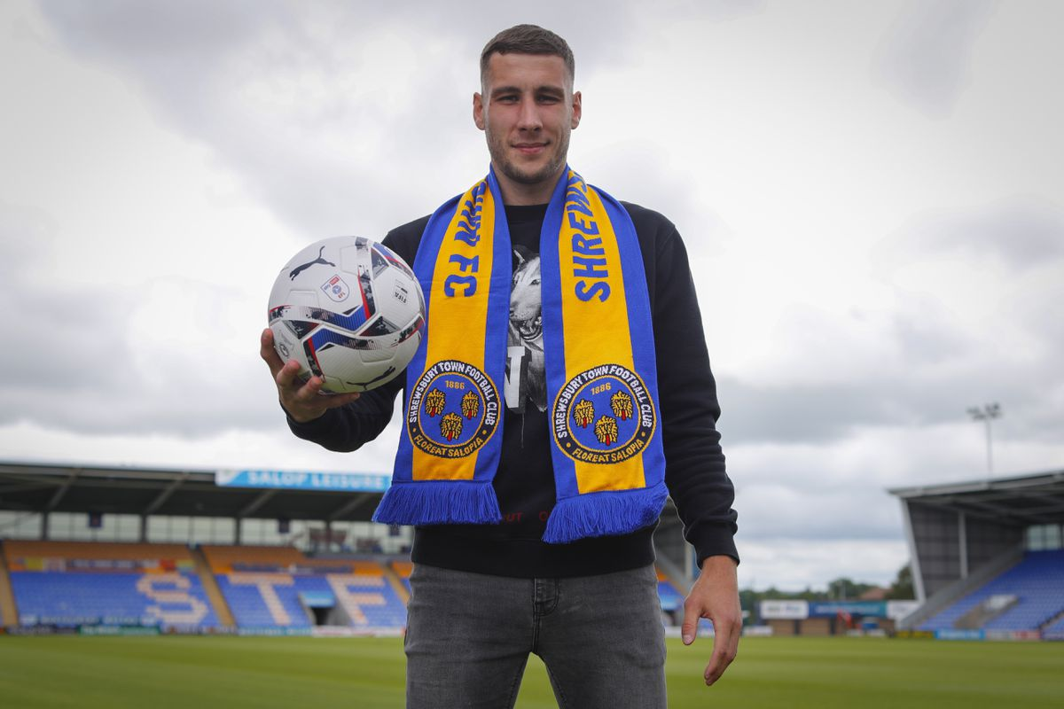 Shrewsbury Town unveil new signing Marko Marosi (AMA)