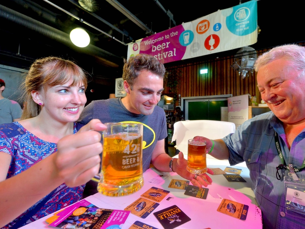 Cheers! Shrewsbury-brewed ale named favourite at CAMRA beer festival
