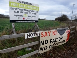 Land saved from mammoth factory plans in Telford should be protected – MP